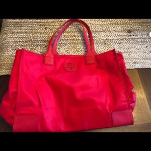 Authentic Tory Burch nylon tote